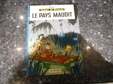 belle reedition johan et pirlouit le pays maudit