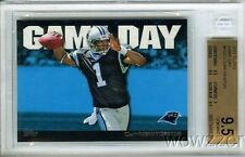 2011 Topps Game Day #GD-CN Cam Newton ROOKIE BGS 9.5 GEM MINT !