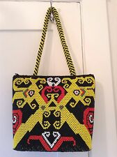 Women Handmade Beads Bag and Purse From Borneo/ Kalimantan Indonesia Authentic