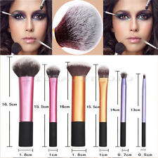 6pcs Real Technique Makeup Brushes Core Collection/ Essential/Starter Set Pretty