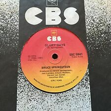 """BRUCE SPRINGSTEEN - - GLORY DAYS / Stand on It - - Rare 1984 South African 7"""""""