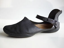 TRIPPEN Germany - Leather Ballerina's CUP Shoe BLOSSOM f black EU40-41 US9.5 UK7