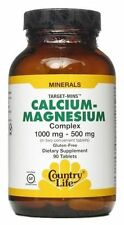 Country Life Vitamins - Calcium Magnesium Complex 1000 mg & 500 mg - 90 Tablets