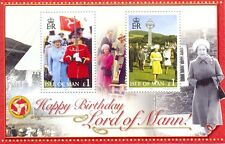 Isle of Man-Lords of mann-Queen Eliz.11-Royalty mnh (2006) min sheet