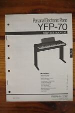 Yamaha Personal Electronic Piano YFP-70 Service Manual