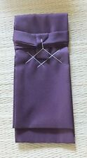 For Japanese sword Shirasaya Bag Tanto Size Purple made in Japan