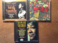 Sarah Vaughan [3 CD Alben] Brazilian Romance + Sassy + Best of