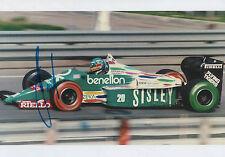 """Gerhard Berger """"Benetton"""" Autogramm signed 20x30 cm Bild"""