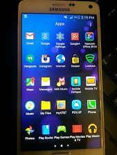 Samsung Galaxy Note 4 SM-N910A - 32GB-Frost White/Black AT&T unlock Smartphone