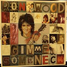 "Ron Wood (Rolling Stones) Gimme Some Neck 12"" LP Columbia Rock 1979 Near Mint"
