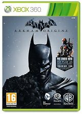 Xbox 360 Game Batman Arkham Origins incl. Deathstroke & Knightfall DLC Pack NEW