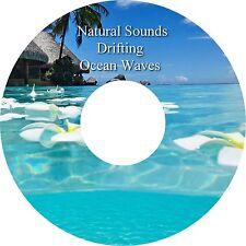 Natural Sounds Drifting Ocean Waves CD -  Relaxation Deep Sleep Stress Relief