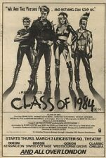 5/3/83PN24 MOVIE ADVERT 7X5 CLASS 0F 1984 (PERRY KING)