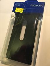 Nokia Lumia 800 Fitted Hard Cover in Black CC-3032 Brand New in Original Package