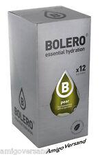 Bolero DRINKS - Pear (Birne) - 12 Beutel für 18 Liter Getränke