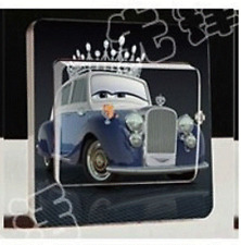 """jolie stickers pour interrupteur """"CARS"""";"""