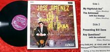 LP Jose Jimenez: At The Hungry I starring Bill Dana