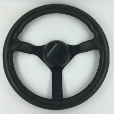 Hella Momo 360mm leather steering wheel. Genuine. Excellent condition! Rare!