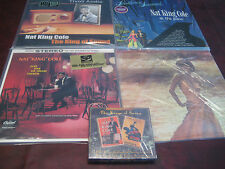 NAT KING COLE THE KING OF SOUND COLLECTION WITH 4 AUDIOPHILE TITLES & BONUS CDS