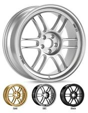 Enkei RPF1 wheels 17x9 5x100 +45 Silver. Set of 4. 3797908045SP WRX BRZ FRS