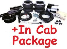 LA42 Chev GMC Silverado Sierra 2007 Onwards BOSS Bag Air Suspension & In Cab Kit
