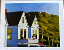 Edward Hopper Poster of Second Story Sunlight  14x11 Unsigned Offset Lithograph