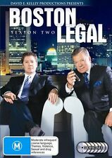 Boston Legal :Season 2 (DVD, 2007, 7-Disc Box Set) TV SERIES REGION 4 -FREE POST