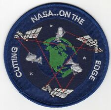 NASA Cutting Edge - On the cutting edge BC Patch Cat. No. C5076