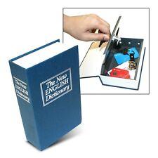 Dictionary Secret Book Hidden Safe with Key Lock, Large, Blue The Original