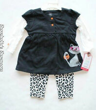 NEW Carter's Halloween Outfit Leopard Cheetah Pants Newborn 6 Months