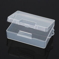 Pro Portable Plastic Clear Transparent Collection Container Storage Case Box New