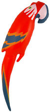 Inflatable Blow Up Parrot Fancy Dress Accessory Pirate Hawaiian Swimming 48CM
