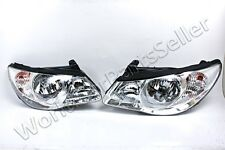Headlights Front Lamps PAIR Fits HYUNDAI Elantra 2007-2010