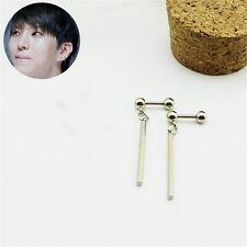 KPOP VIXX V.I.X.X Leo Stainless Steel Long Pendant Earrings