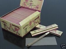 25 Booklets HORNET 108*45mm Slim Unbleached Organic Tobacco Rolling Papers #245