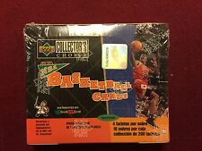 1996-97 NBA UPPER DECK COLLECTOR'S CHOICE SERIES ONE BASKETBALL CARDS 10 PKS
