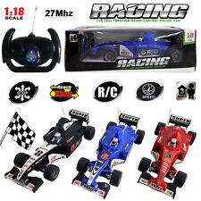 FORMULA 1 F1 ELECTRIC RC RADIO REMOTE CONTROL SUPER RACING CAR KID CHILD BOY TOY
