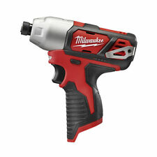 """MILWAUKEE 2462-20 M12 12V 12 VOLT LITHIUM ION 1/4"""" HEX IMPACT DRIVER TOOL ONLY"""