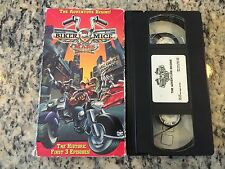 BIKER MICE FROM MARS THE ADVENTURE BEGINS! RARE VHS! NOT ON U.S. DVD! ANIMATION!