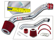 SPORT AIR INTAKE KIT + RED DRY FILTER FOR 92-96 Honda Prelude S Si SE 2.2L L4