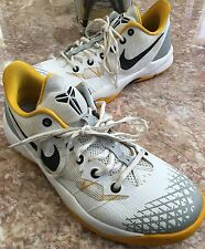 Nike Zoom Kobe VII Venomenon Mens Basketball White Yellow Shoes Sz 11 63557