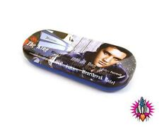 ELVIS THUNDERBIRD VINTAGE RETRO HARD GLASSES CASE SUNGLASSES HOLDER TIN NEW GIFT