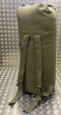 US Army Style Kit / Duffle / Shoulder Bag / Sea Sack / Ruck Sack - Green- NEW