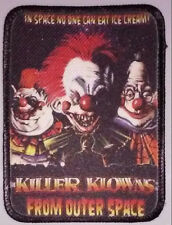 Killer Klowns From Outer Space - Color PATCH HORROR movie - Chiodo Brothers 80s
