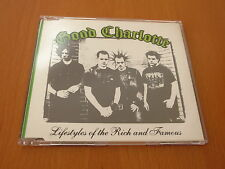 GOOD CHARLOTTE - LIFESTYLES OF THE RICH AND FAMOUS - CD SINGLE AUSTRALIA PROMO