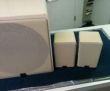 Vintage Canton Plus B Sub and Shelf Speakers