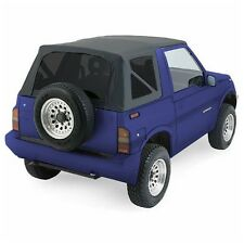 1986-1994 Suzuki Sidekick Soft Top with Tinted Windows Black Denim