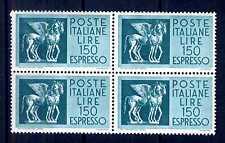 ITALIA REP. - Espressi - 1968/1976 - Cavalli alati - 150 L. QUARTINA. E4151
