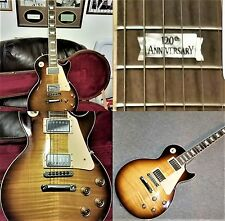 120th ANNIVERSARY 2014 GIBSON LES PAUL TRADITIONAL TOBACCO BURST