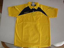 Football Soccer Sport Polo Shirt Unisex Hummel Polyester Grassroot XL Yellow NEW